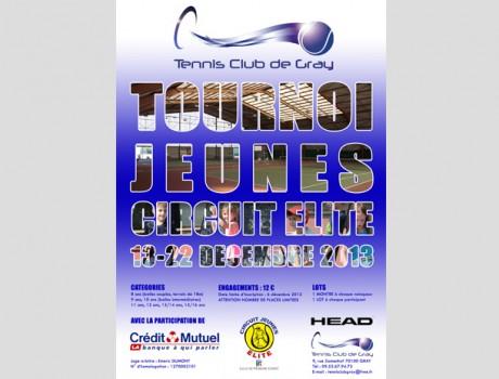 Affiche du tournoi Jeunes Gray 2014