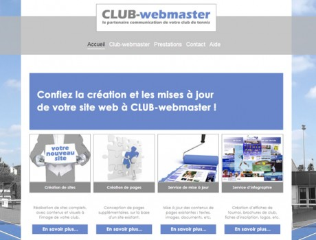 Site internet de Club-webmaster