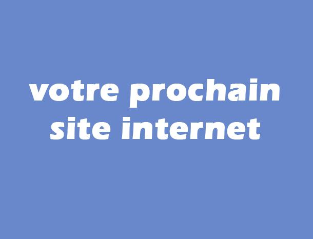 Votre prochain site internet