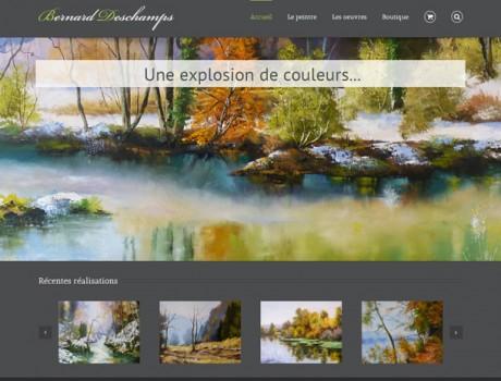 Site internet d'un artiste peintre