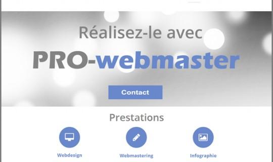 Site internet de Pro-webmaster